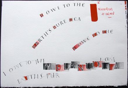 Melancolia sketch