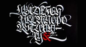 alfabeto pennello