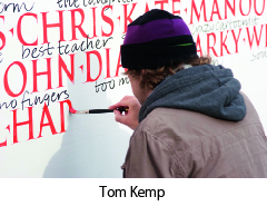 Tom Kemp outdoors